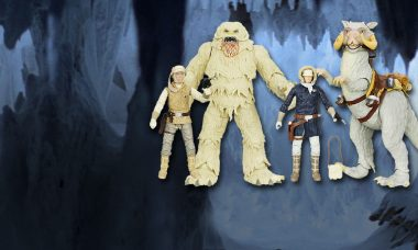 Han Solo and Luke Skywalker Brave Hoth in New Black Series Wave