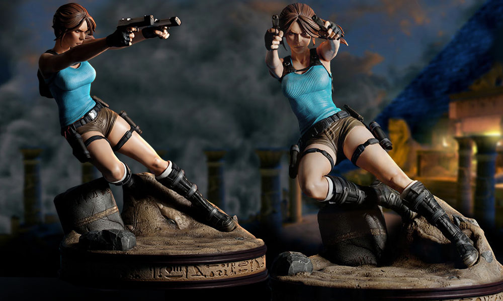Feel The Power Of Ancient Egypt With New Tomb Raider Statue