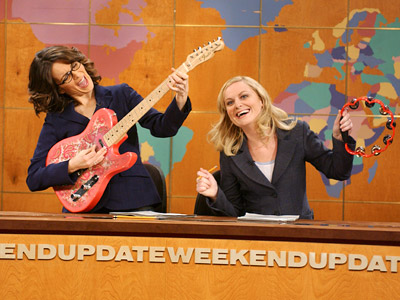 SNL Tina and Amy Weekend Update