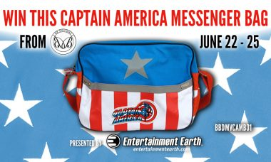 Entertainment Earth Giveaway: Captain America Messenger Bag