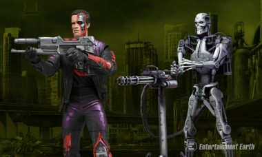 Find Out if the Terminator Can Defeat RoboCop with These Action Figures