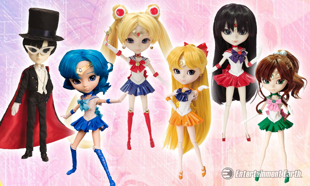 Sailor Moon Pullip Dolls Are Fighting Evil By Moonlight