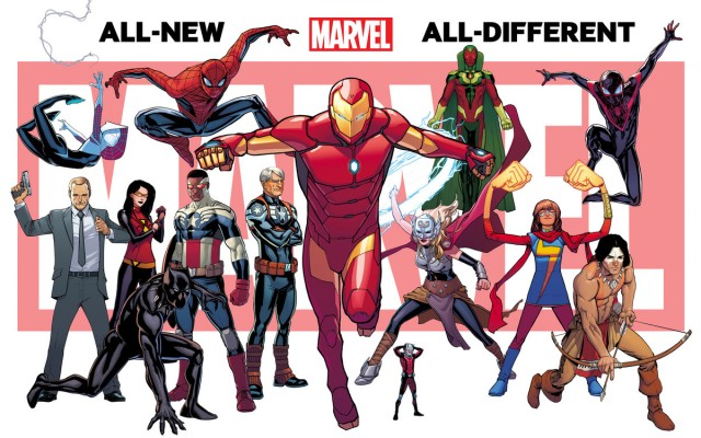 Marvel Comics New Characters