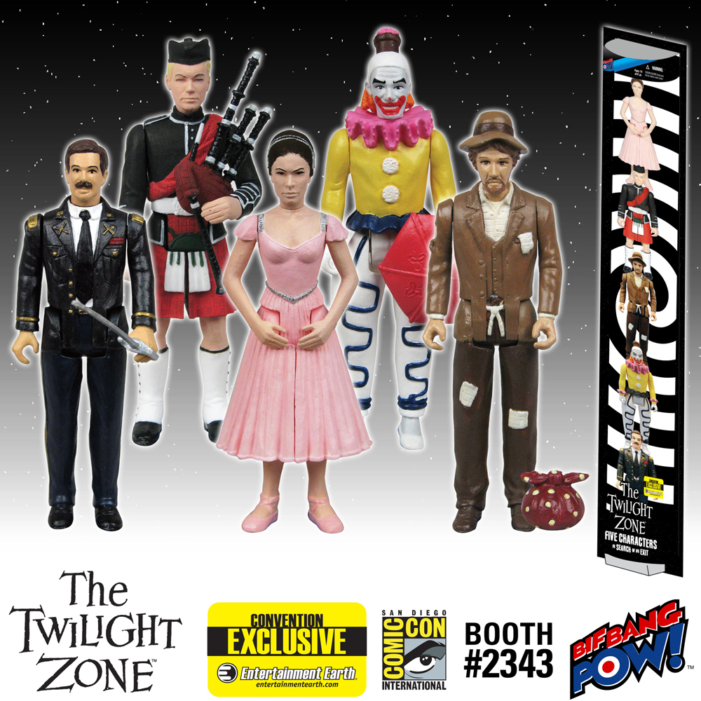 The Twilight Zone Five Characters in Search of an Exit 3 3/4-Inch Figures Set