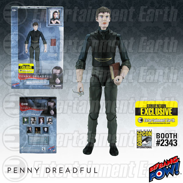 Penny Dreadful Victor Frankenstein 6-Inch Action Figure – Convention Exclusive
