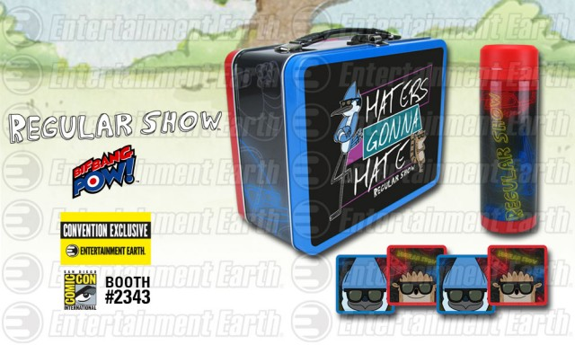 Regular Show Haters Gonna Hate Tin Tote Gift Set – Convention Exclusive