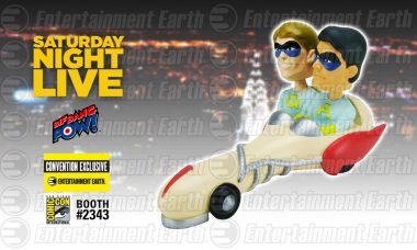 The Ambiguously Gay Duo Race Into San Diego Comic-Con as a New Entertainment Earth Convention Exclusive