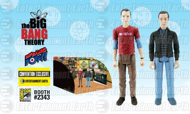 THE BIG BANG THEORY™ Sheldon and Stuart 3 ¾-Inch Action Figures Set of 2 – Convention Exclusive