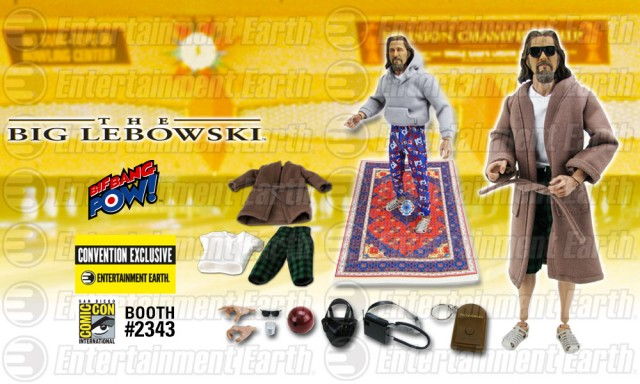 The Big Lebowski The Dude Deluxe 12-Inch Action Figure - Convention Exclusive