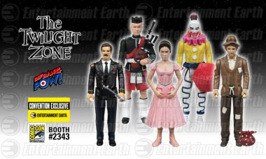 Five Characters Exit Out Of The Twilight Zone and Into the Entertainment Earth Booth #2343