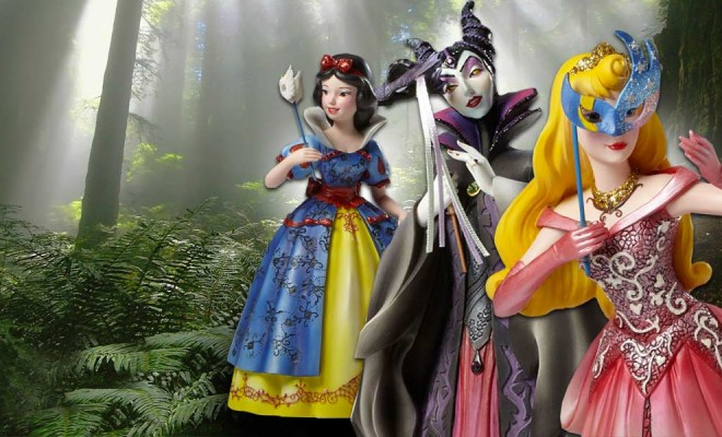 Attend A Masquerade Ball With Stunning New Disney Statues