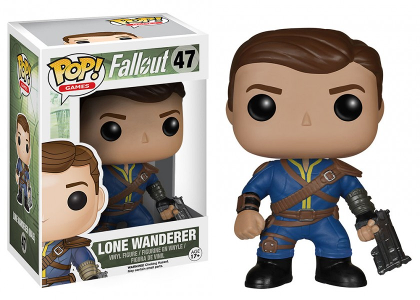Fallout Lone Wanderer Male Pop! Vinyl