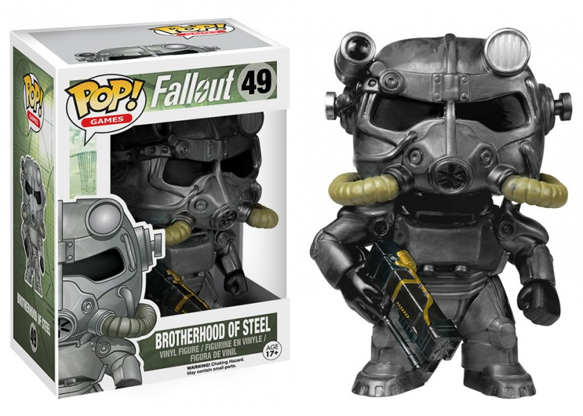 Fallout Brotherhood Pop! Vinyl