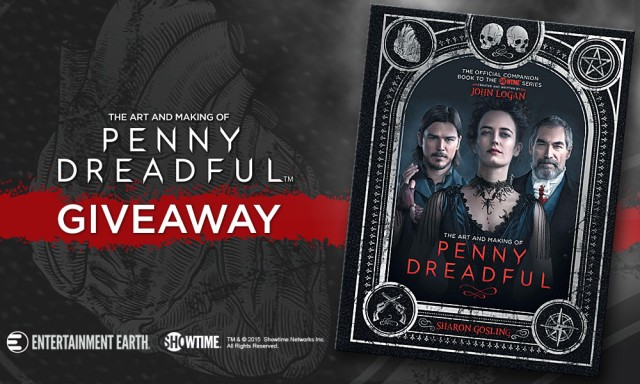 Autographed 'Penny Dreadful' Book Giveaway at San Diego Comic-Con