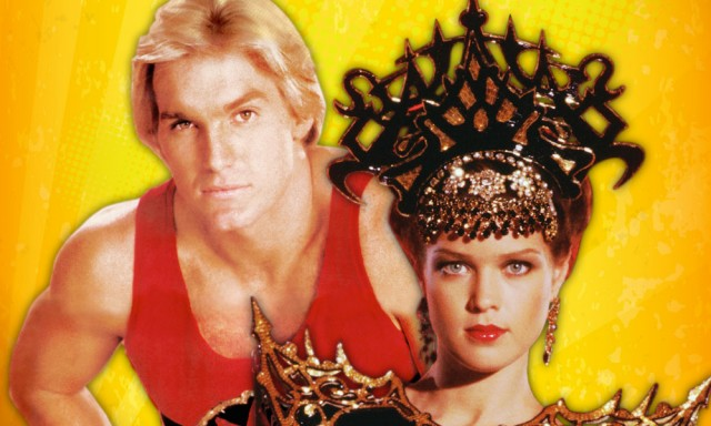 Sam J. Jones and Melody Anderson