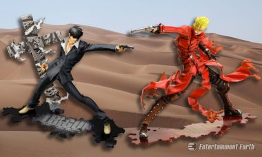 Wild West Steampunk Heroes from Trigun Are Epic ArtFXJ Statues