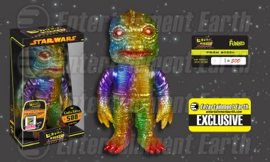 Star Wars Trandoshan Bounty Hunter Gets Exclusive Rainbow Hikari Makeover
