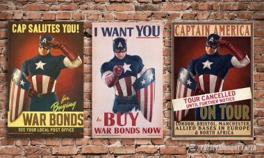 Captain America Wants YOU to Check Out These Cool Replica Posters