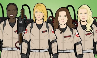 New Costumes, New Proton Packs, New Fun on the Set of Ghostbusters