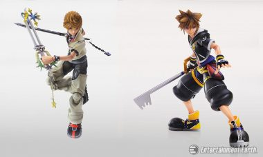 Wield the Keyblade with Kingdom Hearts Play Arts Kai Figures