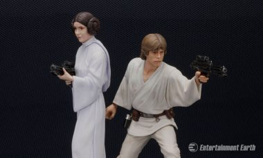 The Force Is Strong with These Skywalker Siblings ArtFX+ Statues