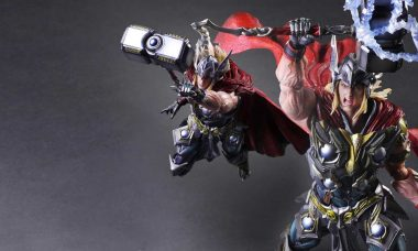 Is This Marvel Play Arts Kai Figure Worthy of Wielding Mjolnir?