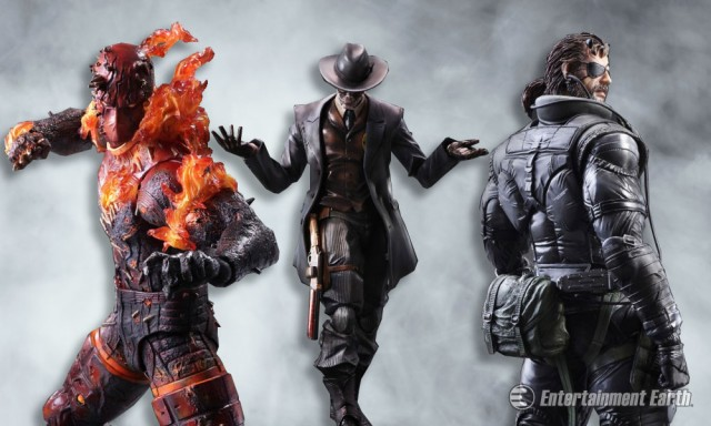 Metal Gear Solid Play Arts Kai Figures