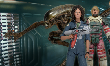 See the Coolest Action Figure Sets Aboard the Spaceship Nostromo