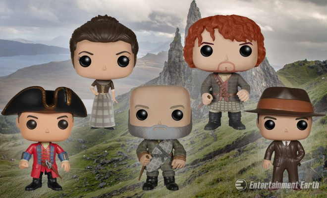 Sing Me A Song Of Outlander Pop Vinyl Figures