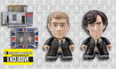 Sherlock and Watson Head to a Wedding as Exclusive Vinyl Figures