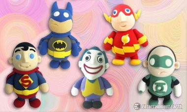 Build the DC Universe Out of Dough with New DIY Modeling Sets