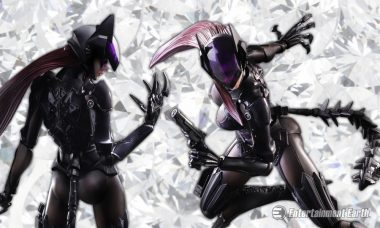 Meow Says the New Catwoman Play Arts Kai Variant Action Figure