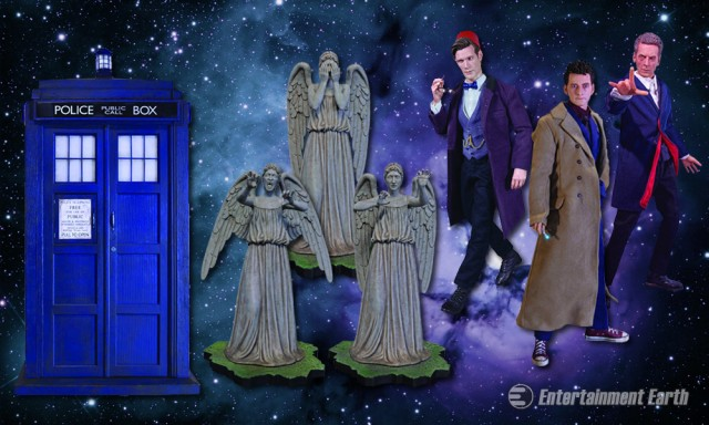 Doctor Who 1:6 Scale Figures