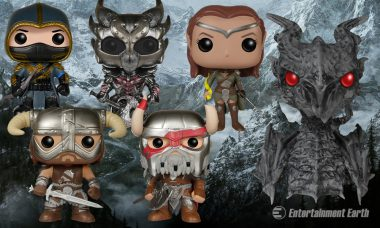 The Elder Scrolls Say the Pop! Vinyls of Tamriel Are Epic