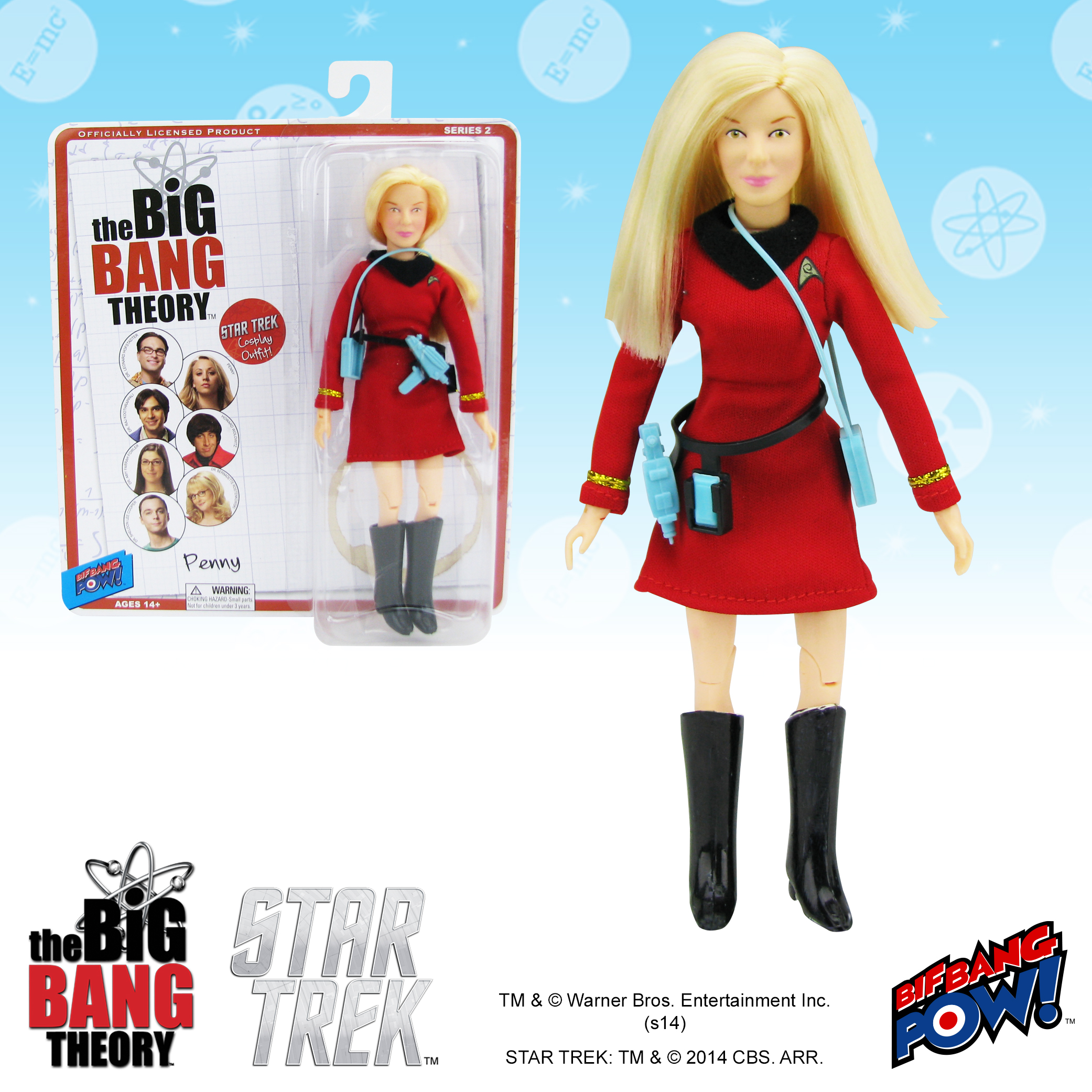 TBBT Penny Star Trek Figure