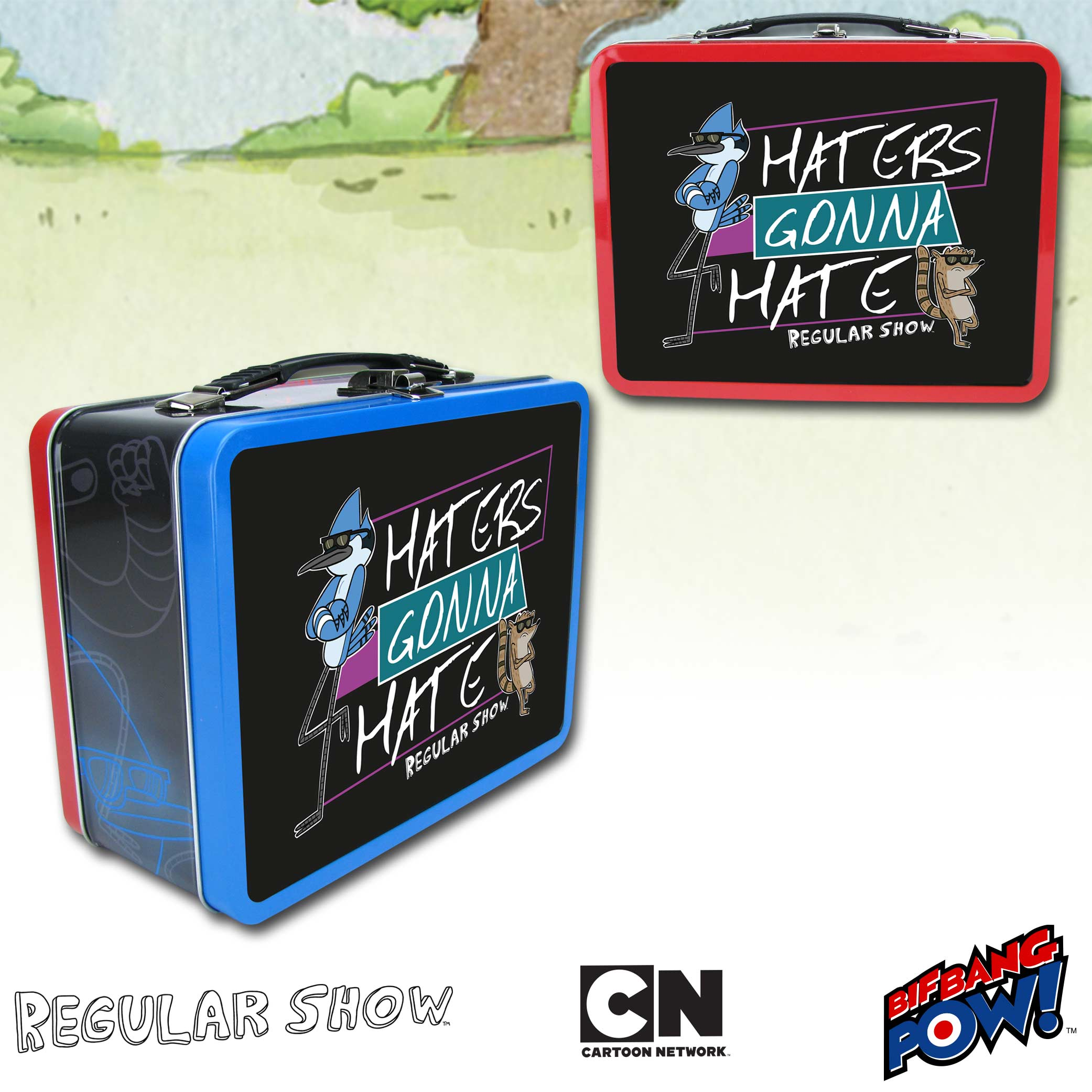 Regular Show Haters Tin Tote
