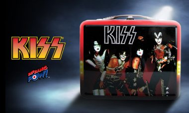 Relive 1977 with New In Stock KISS Tin Tote