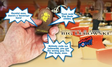 Get the Dude's Wisdom at Your Fingertips with Big Lebowski Talking Keychain
