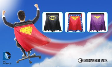Entertainment Earth Announces New Additions to DC Comics Chair Capes™