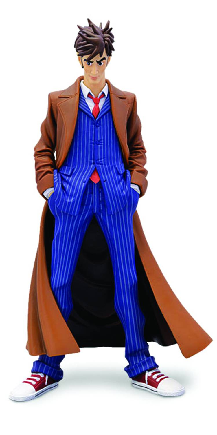 10th And 11th Doctor Statues Invite You Along For An Adventure