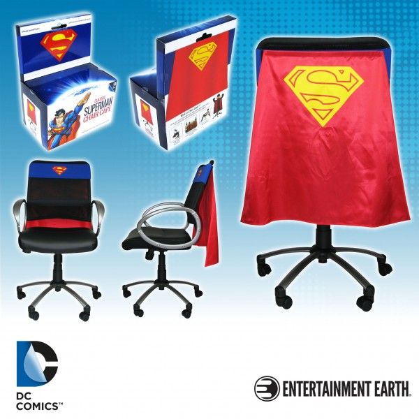 Superman Silver Age Chair Cape