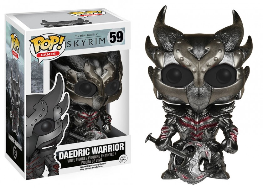 Daedric Warrior Pop! Vinyl
