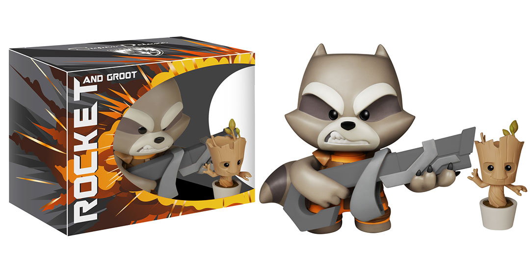 Best Friends From Guardians Of The Galaxy Become Deluxe