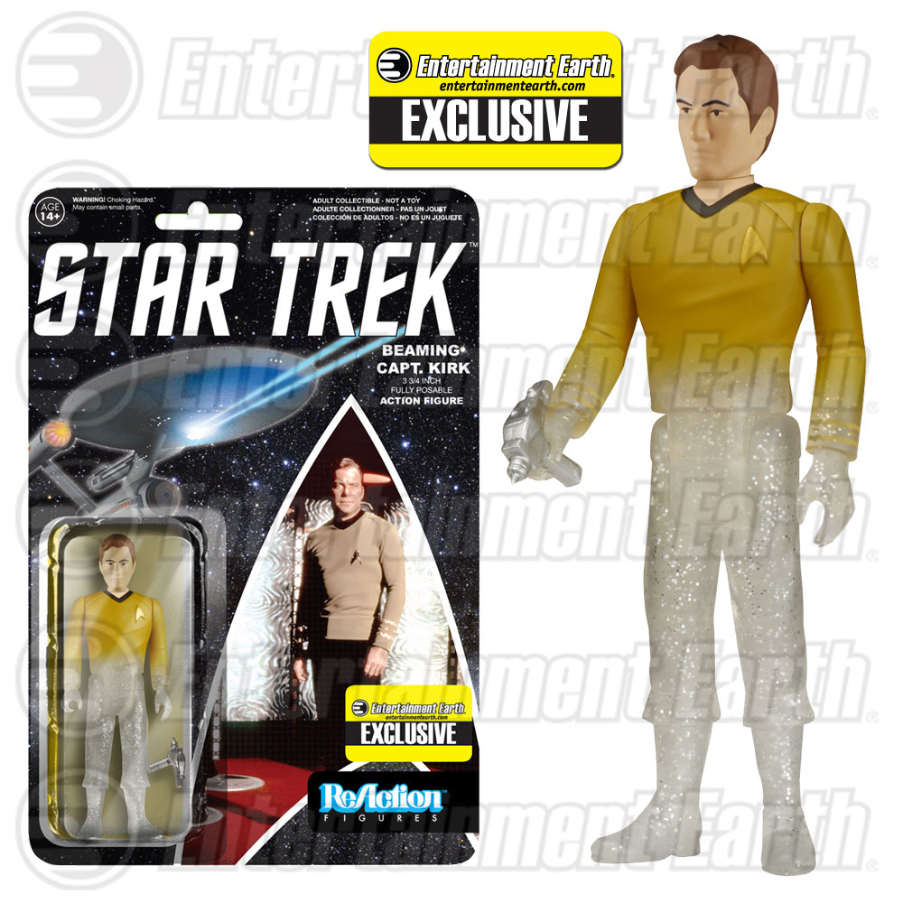 Kirk Beaming ReAction Figure Exclusive