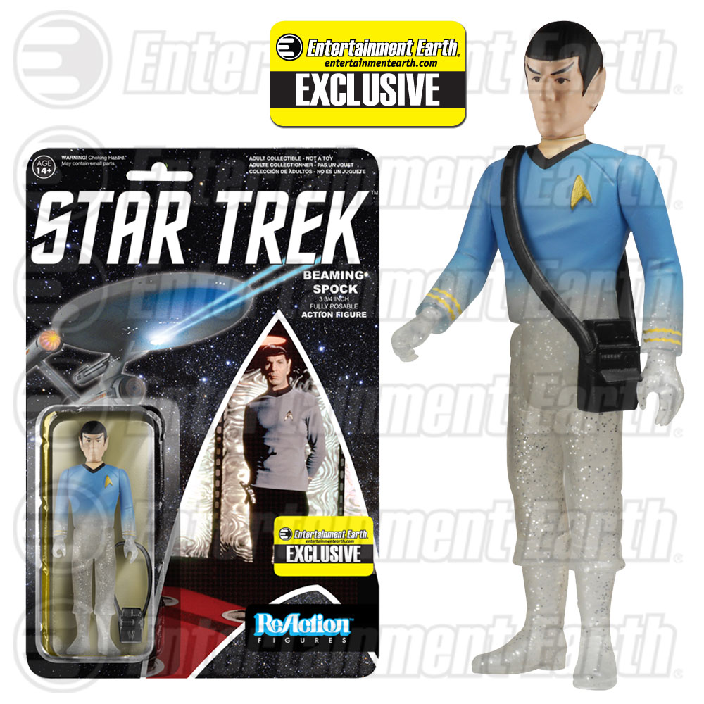 Spock Beaming ReAction Figure Exclusive