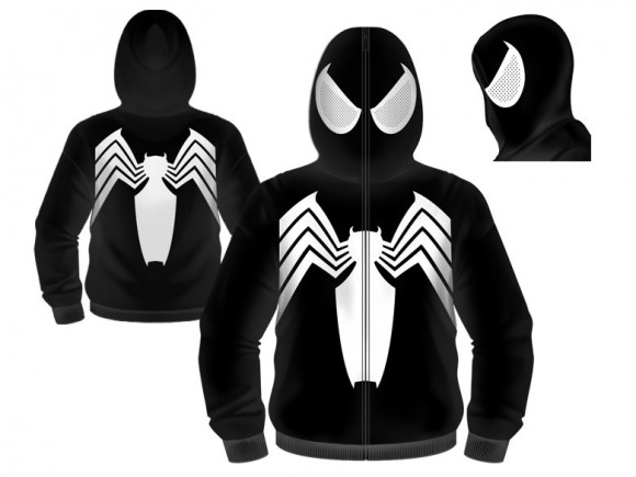 132e0a4ac Become Daredevil, Loki, and More with Marvel Costume Hoodies