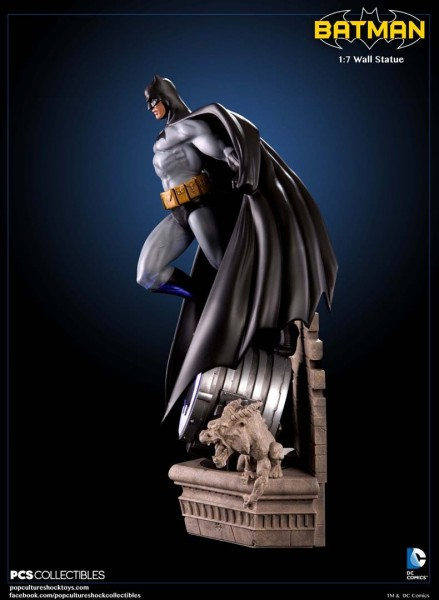 Batman lights up the night as new wall statue batman light up wall statue aloadofball Choice Image