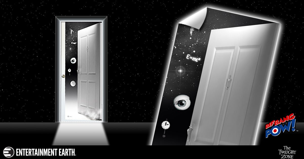 Twilight Zone Door Decal Transforms Your Room Into Another