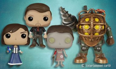 Enter the BioShock World with New Pop! Vinyl Figures