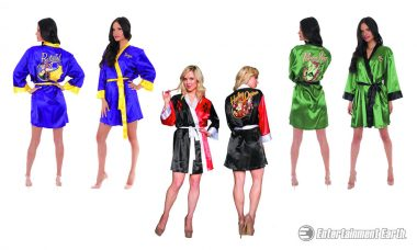 Get Your Luxury On with DC Bombshells Satin Robes